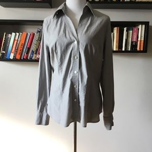 Worthington button up blouse size 14